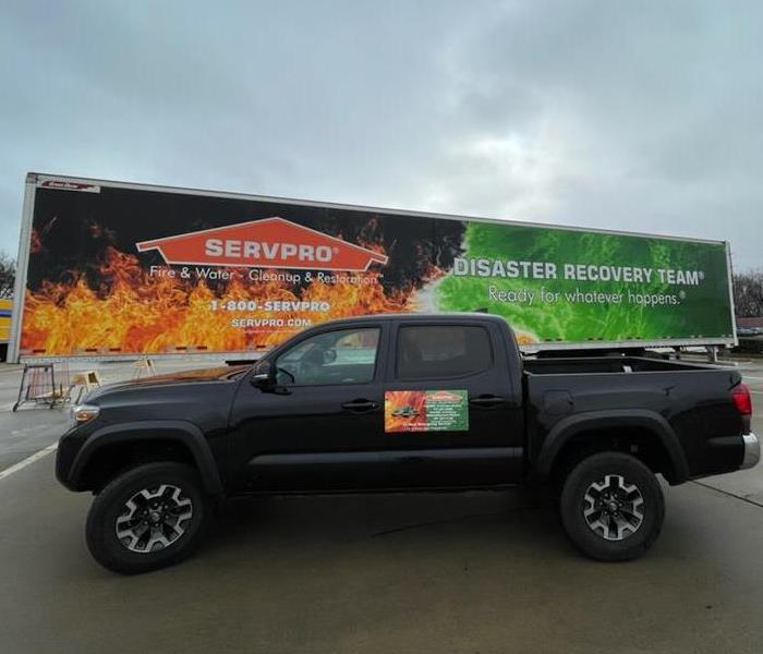 SERVPRO storm team in Texes
