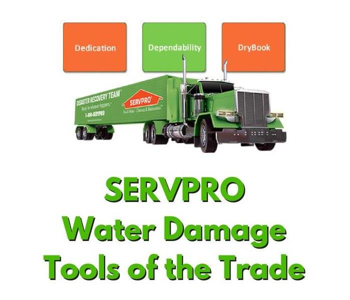 Why SERVPRO SERVPRO DryBook Software Guides Our Decisions and Stores Job Data